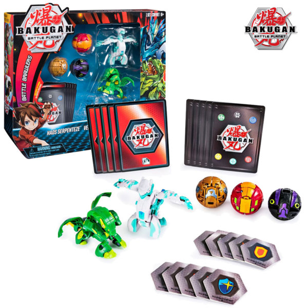 Bakugan Battle Planet Комплект 5 броя топчета Бакуган 6045132