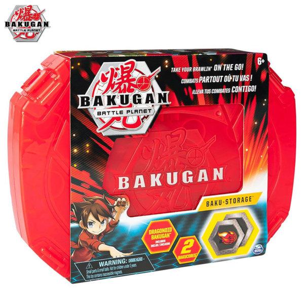 Bakugan Battle Planet Кутия за съхранение с 1 топче Бакуган 6045138