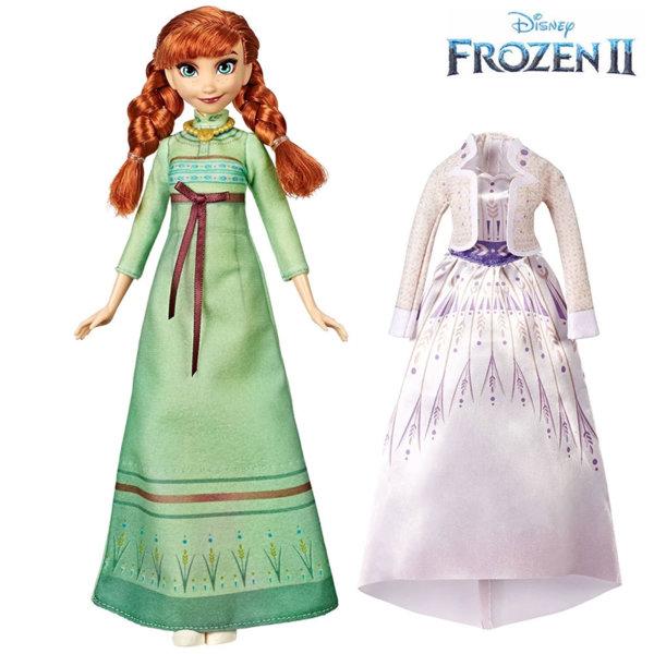Disney Frozen II Кукла Анна с две рокли Замръзналото Кралство 2 E6908