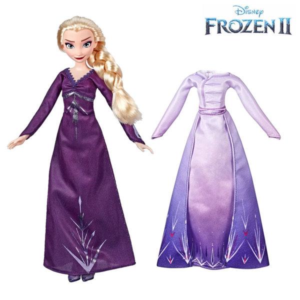 Disney Frozen II Кукла Елза с две рокли Замръзналото Кралство 2 E6907