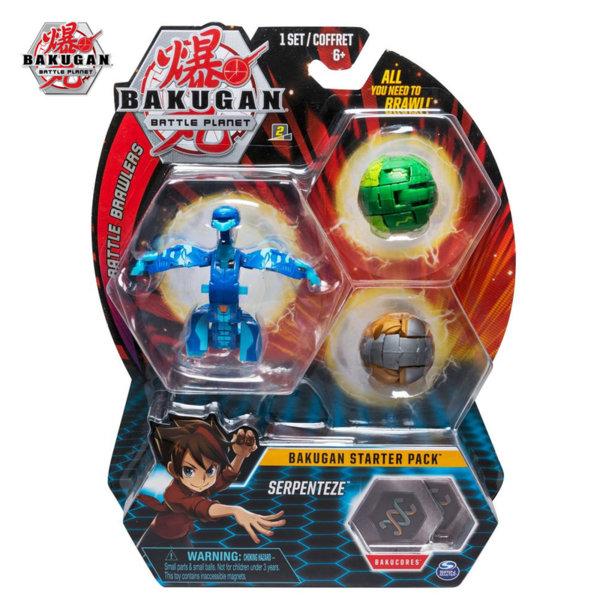 Bakugan Battle Planet Комплект 3 топчета Serpenteze 6045144