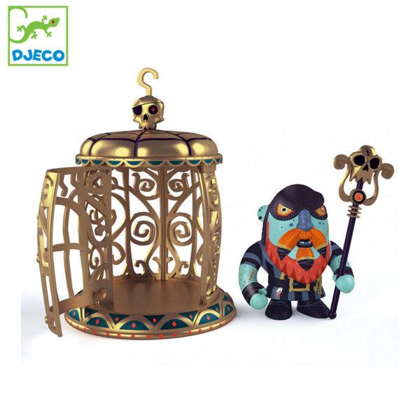 Djeco Фигурка за игра Gnomus & Ze cage DJ06820