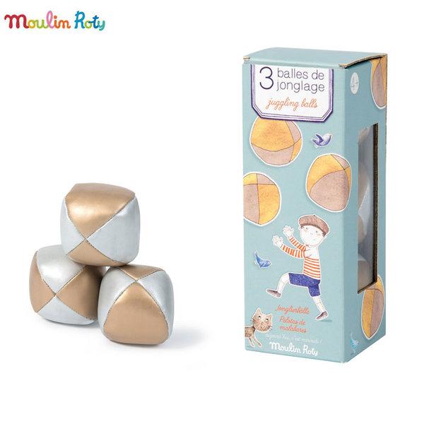 Moulin Roty Комплект топки за жонглиране 713145