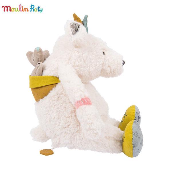 Moulin Roty Плюшена музикална полярна мечка 714041