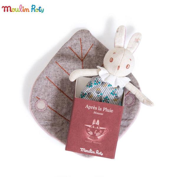 Moulin Roty Мека играчка зайчето Mousse 715026