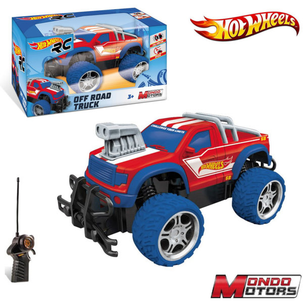 Hot Wheels Пикап Off Road с радио контрол 63588