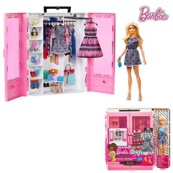 Barbie Моден гардероб  с кукла Барби GBK12