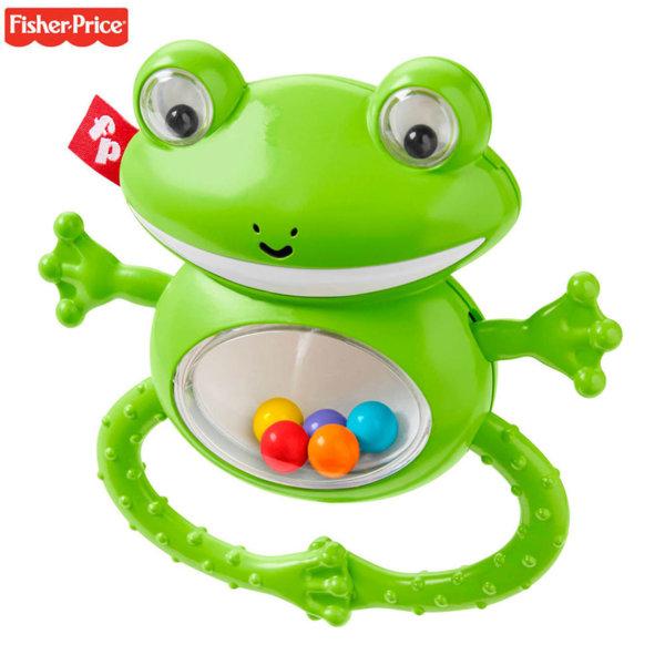 Fisher Price Дрънкалка жаба GGF02