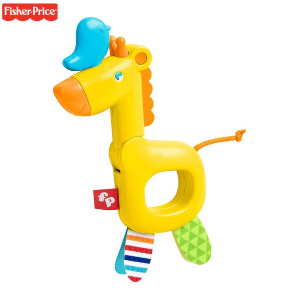 Fisher Price Дрънкалка жираф GGF02