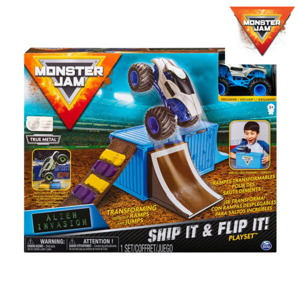 Monster Jam Основни каскади Ship it and Flip it 6045029
