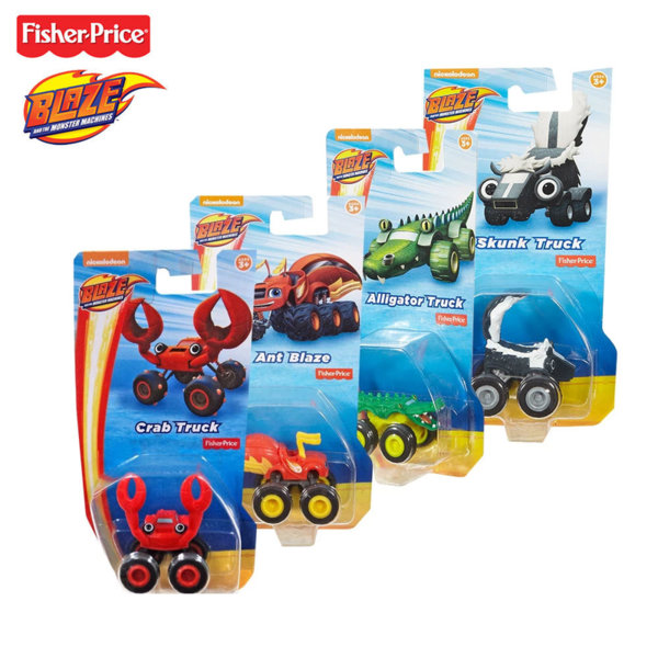 Fisher Price Blaze and the Monster Количка Crab Truck DYN46