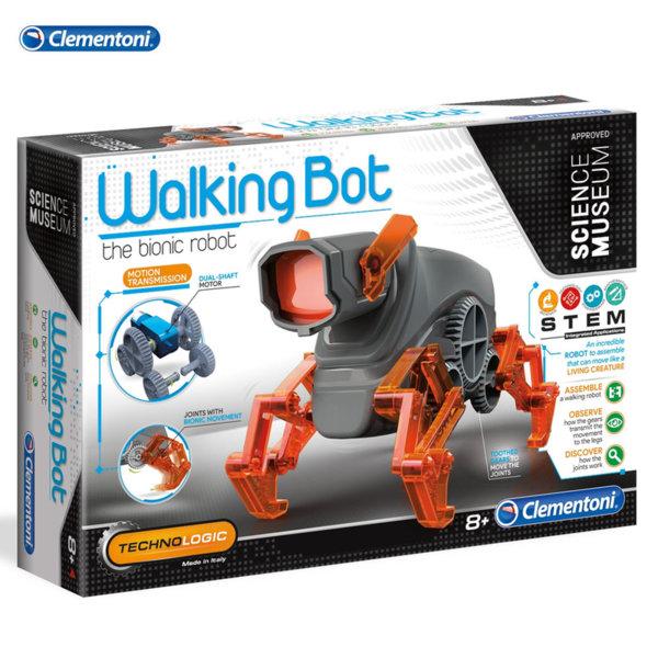 Clementoni Science & Play Робот за програмиране walking bot 75039