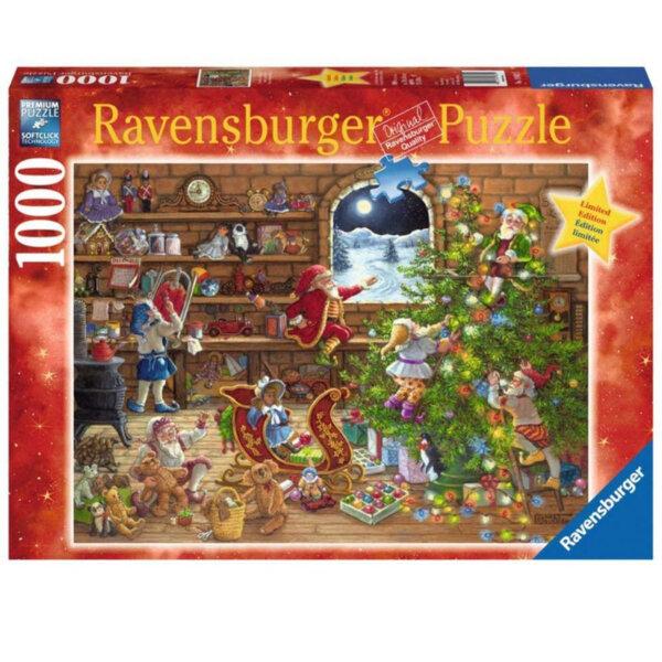 Ravensburger Пъзел В очакване на Коледа 1000 части 19882