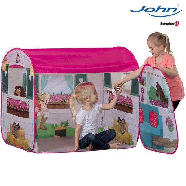 John Детска палатка Конюшна с фигурка Schleich 130077012