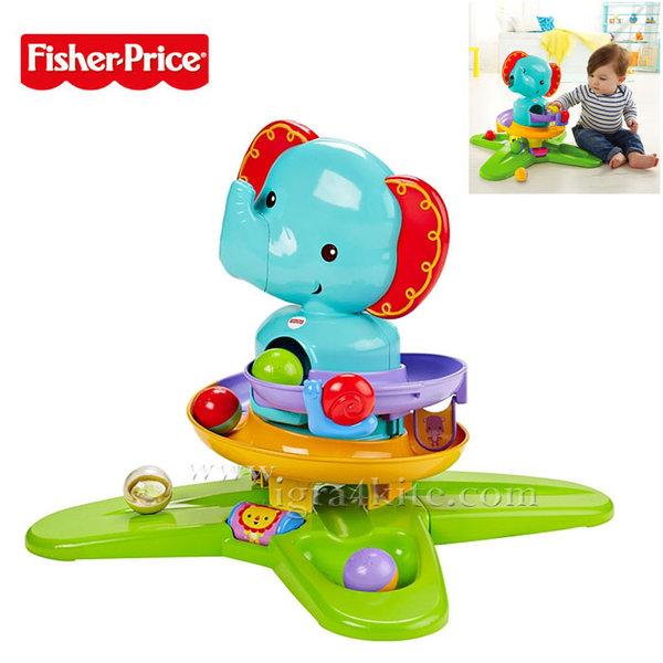 Fisher-Price - Забавен център Изненадай Слончето dgt87