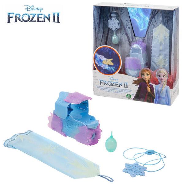 Disney Frozen II Изстрелваща ръкавица със снежен ефект звук и светлина FRN67000