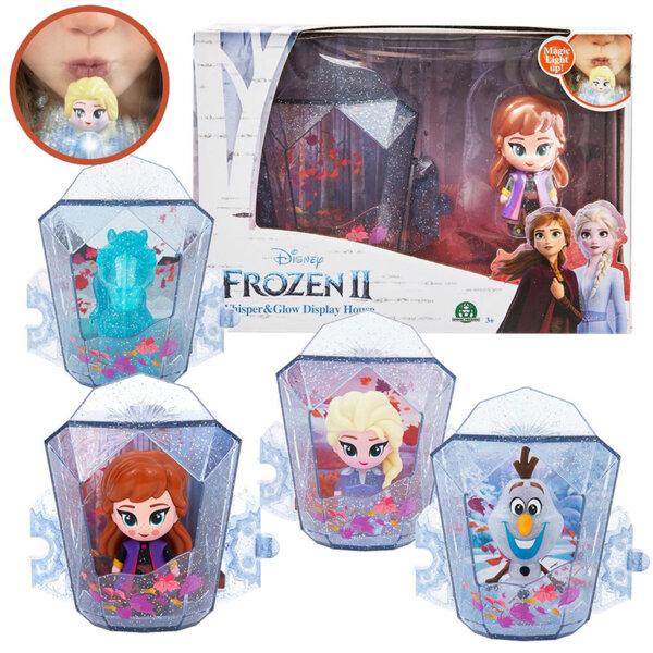 Disney Frozen II Фигура Духни и Освети в снежна кутийка FRN73000