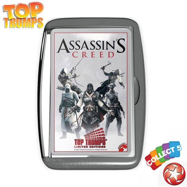 Top Trumps Игра с карти Assassin's Creed WM02141