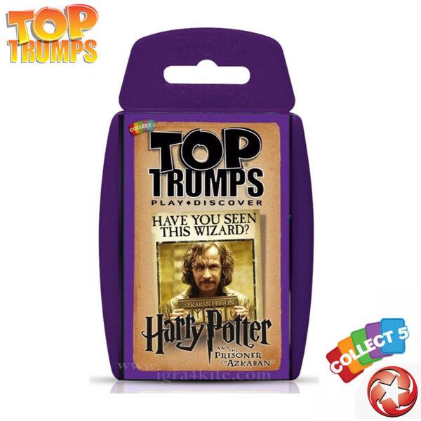 Top Trumps Игра с карти Harry Potter and The Prisoner of Azkaban WM22897