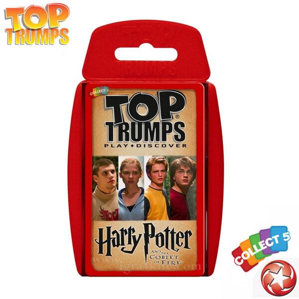Top Trumps Игра с карти Хари Потър и Огненият бокал WM22903