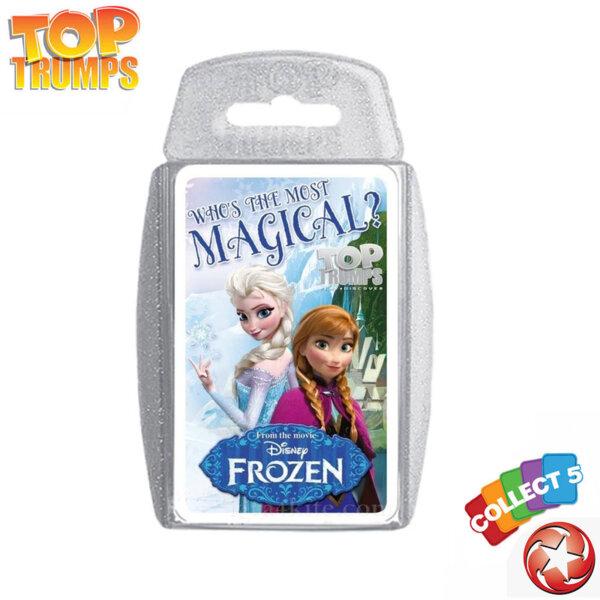 Top Trumps Игра с карти Disney Frozen WM22941