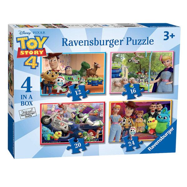 Ravensburger Пъзел Играта на играчките -комплект 4 броя 06833