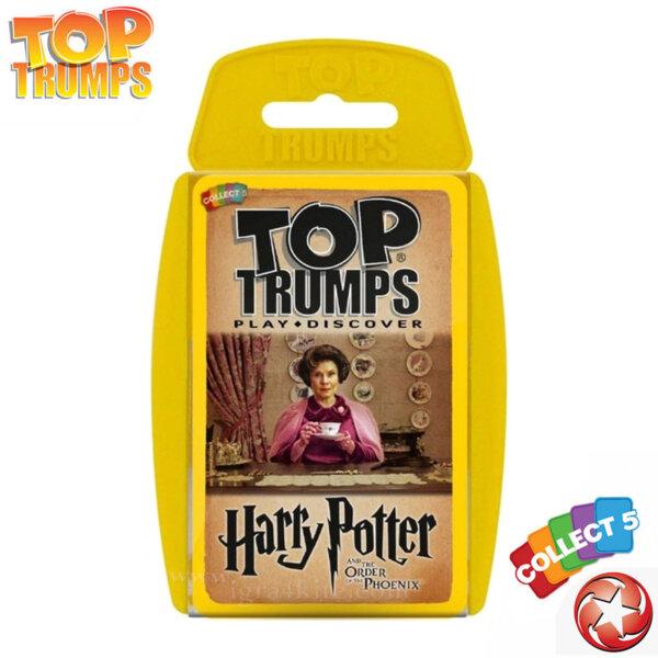 Top Trumps Игра с карти Хари Потър и Орденът на Феникс WM23009