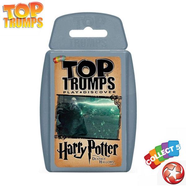 Top Trumps Игра с карти Хари Потър и Даровете на смъртта 2 WM24211