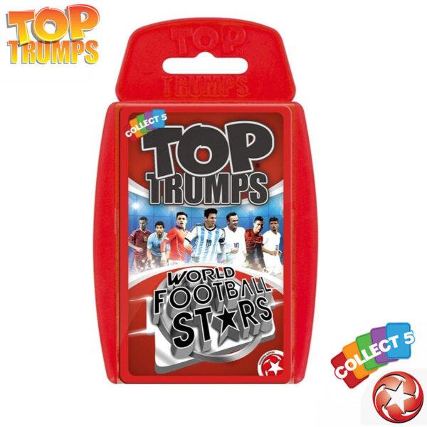 Top Trumps Игра с карти Световни футболни звезди WM26246