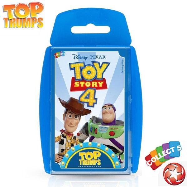 Top Trumps Игра с карти Играта на играчките 4 WM33411