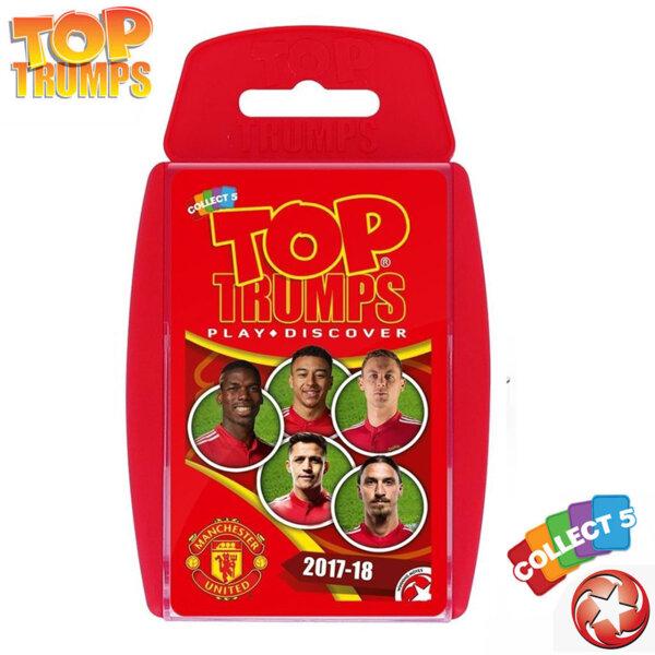 Top Trumps Игра с карти Манчестър Юнайтед WM31691