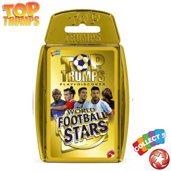 Top Trumps Игра с карти Световни футболни звезди 2018 WM32155