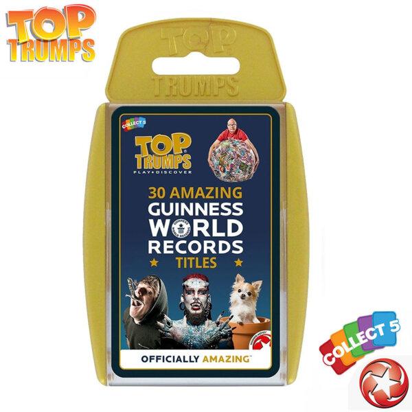 Top Trumps Игра с карти Световните рекорди на Гинес WM32780