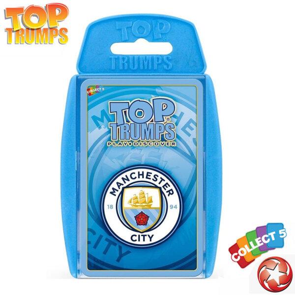 Top Trumps Игра с карти ФК Манчестър Сити WM35545