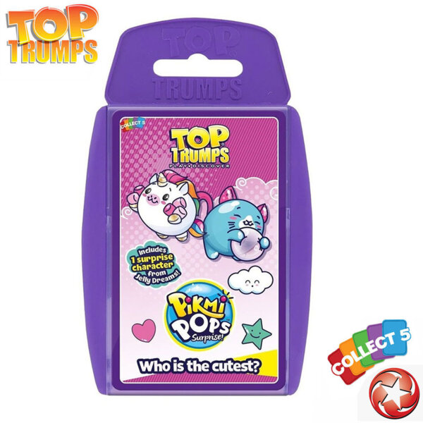 Top Trumps Игра с карти Pikmi Pops WM35934