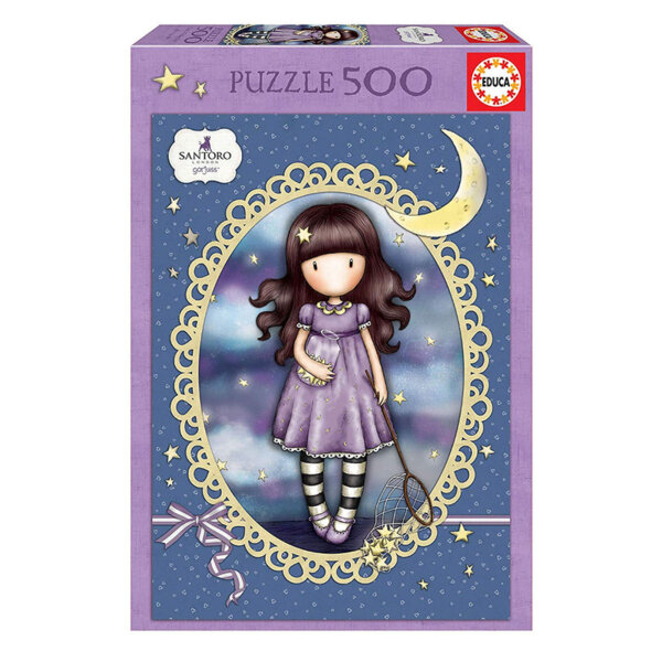 Educa Gorjuss Пъзел Catch a Falling Star 500 части 17990