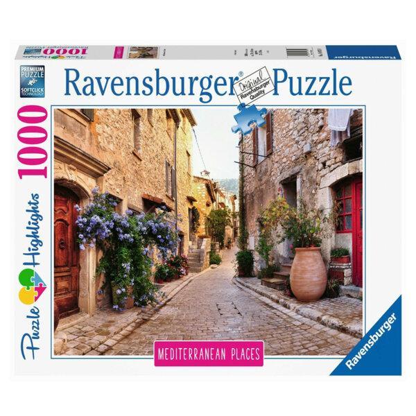 Ravensburger Пъзел Средиземноморие: Франция 1000 части 14975