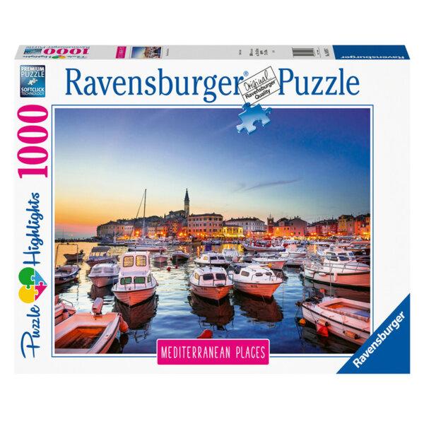 Ravensburger Пъзел Средиземноморие: Хърватска 1000 части 14979