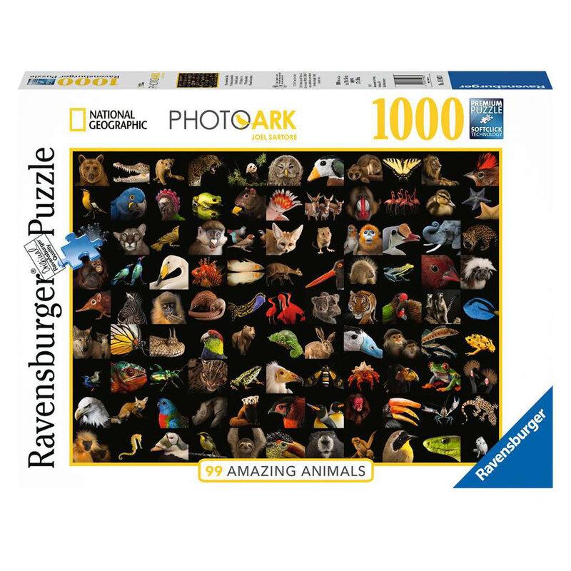 Ravensburger Пъзел Невероятни животни 1000 части 15983