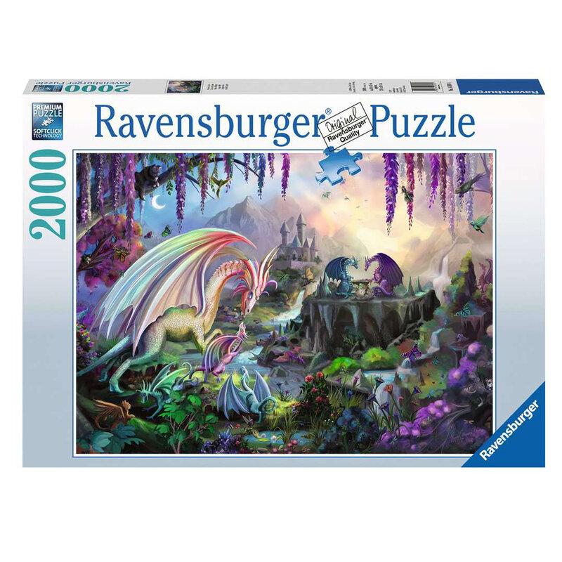 Ravensburger Пъзел Долината на драконите 2000 части 16707