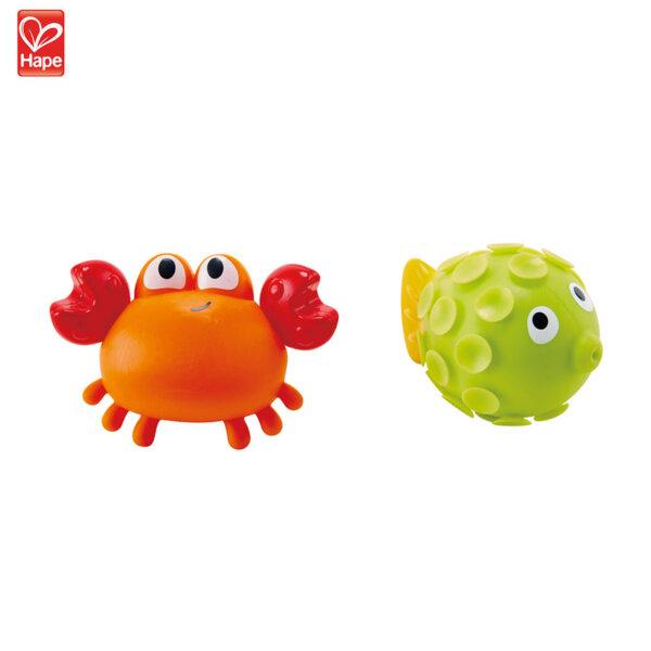 Hape Играчки за баня раче и рибка H0208