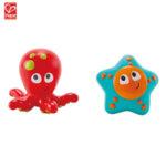 Hape Играчки за баня октопод и морска звезда H0213