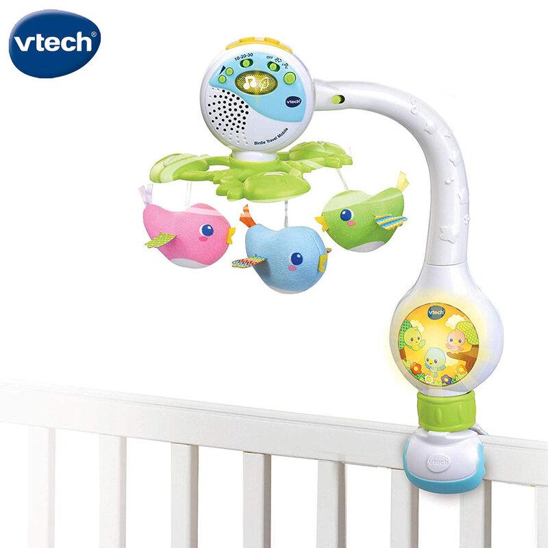 Vtech Музикална въртележка за легло и количка Птичета V513103