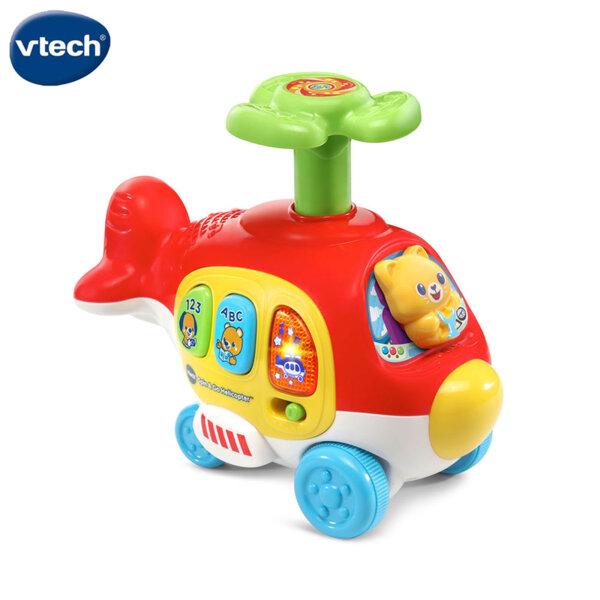 Vtech Музикален хеликоптер на колелца Push & Go V513903