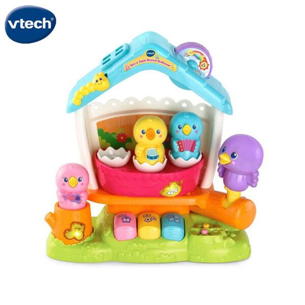 Vtech Музикална образователна къщичка за птици V522403