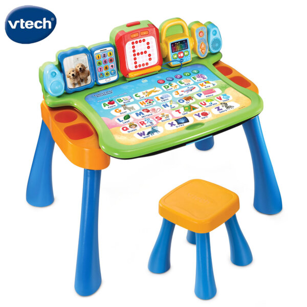 Vtech Образователна маса със стол и интерактивен плот Докосни и научи V195803