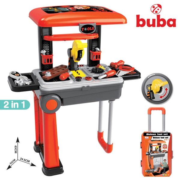 Buba Детска работилница в куфар 2в1 Deluxe tool set 088-922A