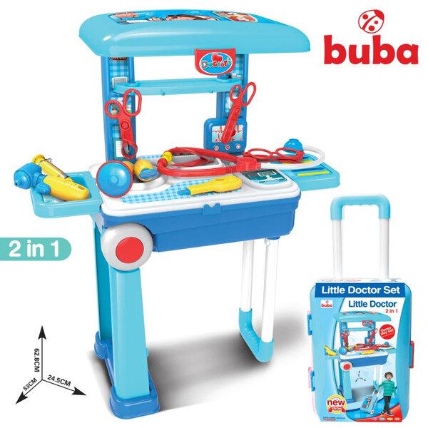 Buba Детски медицински център в куфар 2в1 008-925A