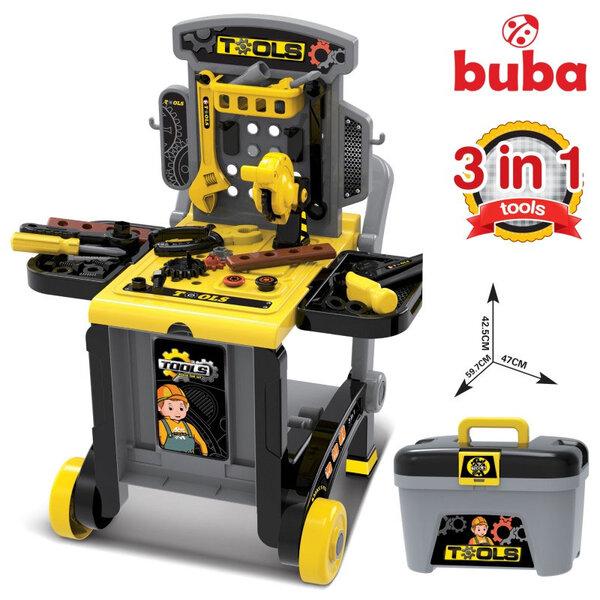 Buba Детски център с инструменти 3в1 Deluxe tool set 008-928