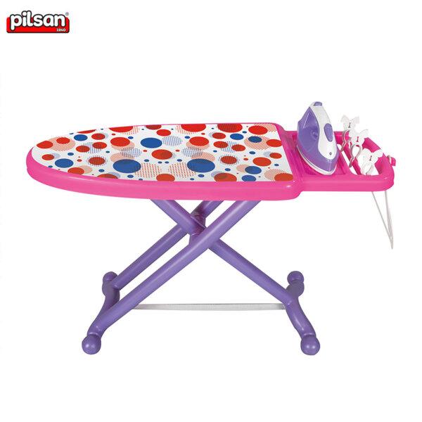 Pilsan Детска дъска за гладене с ютия Точки 03188